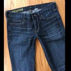 J Crew Matchstick Stretch Jeans 29